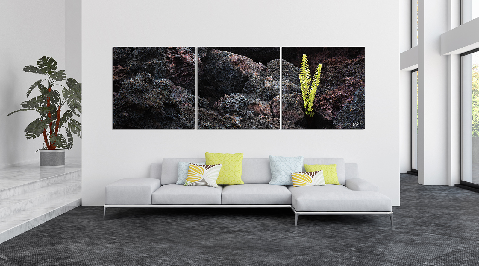 Ultra-Wide Triptych Lumachrome® TruLife® Acrylic print preview