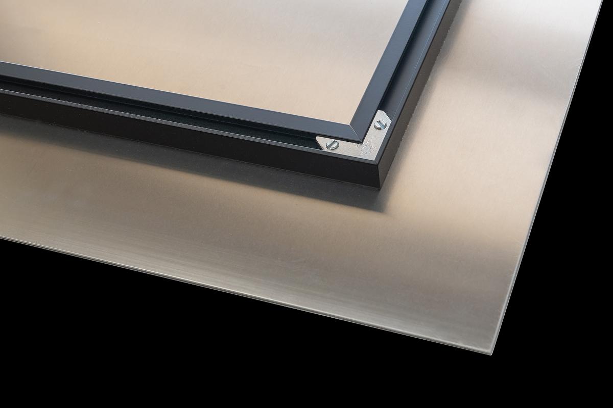 fujiflex, metal print, backside, photo