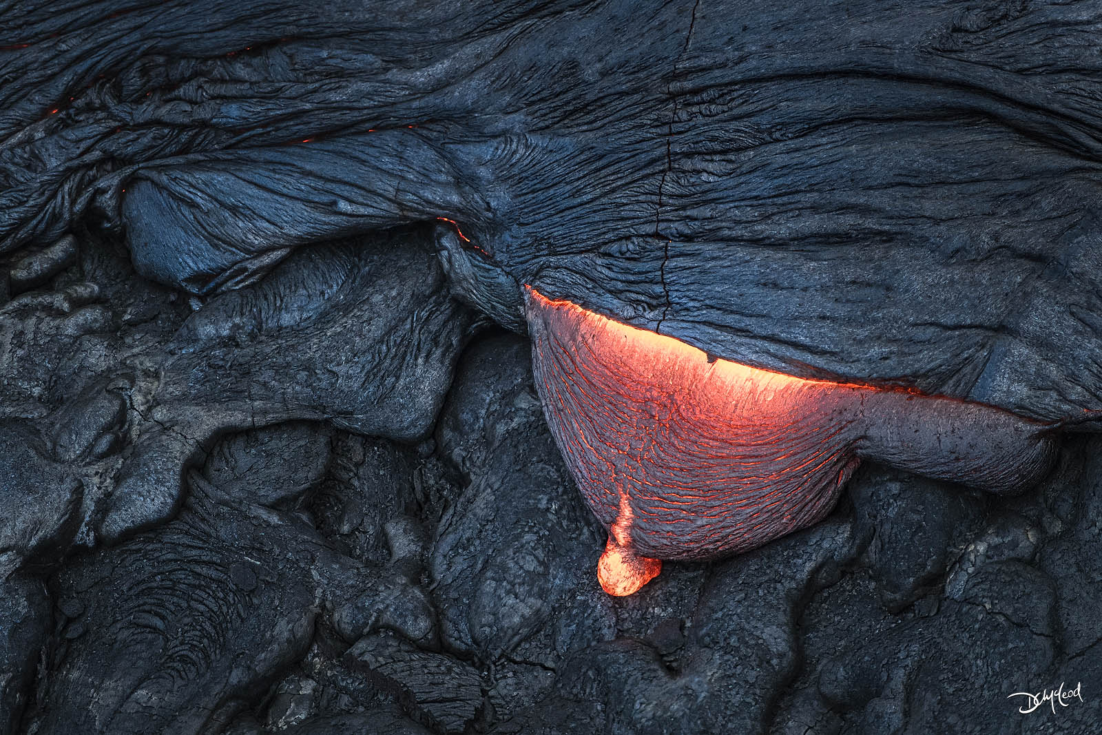 pressure, east rift zone, hawaii, hot, lava, photo
