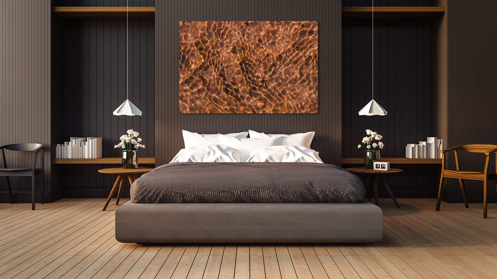 bedroom, interior, hotel, bed, room, furniture, modern, luxury, home, design, decor, contemporary, wood, style, white, apartment...